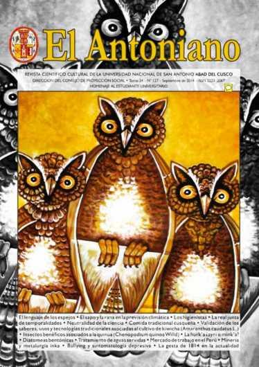 Revista El Antoniano Nº 127 - Homenaje al Estudiante Universitario