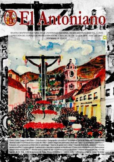 Revista El Antoniano Nº 126 - Homenaje al Cusco
