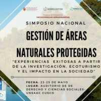 """""""SIMPOSIO NACIONAL DE GESTIÓN DE ÁREAS NATURALES PROTEGIDAS"""""""