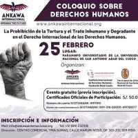 COLOQUIO INTERNACIONAL SOBRE DERECHOS HUMANOS